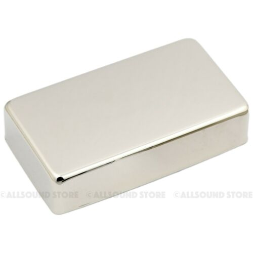 NICKEL SILVER Humbucker Guitar Pickup Cover No Hole RAW NICKEL or CHROME plated
