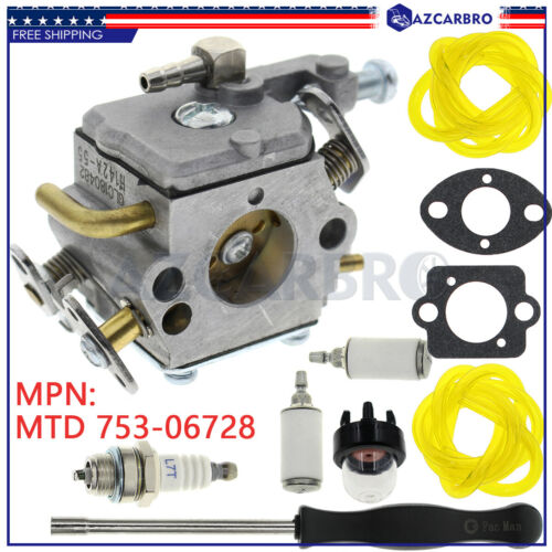 OEM RUIXING Carb For MTD 753-06728 Carburetor Fits Remington 51cc 55cc Saw New