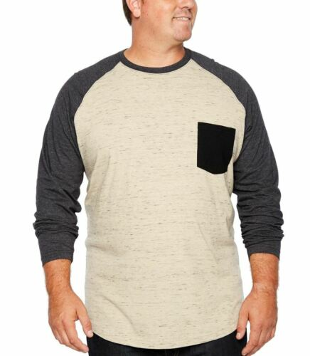 Men/'s Tee 2XL 2XLT 3XL 3XLT 4XL LS Raglan T-Shirt The Foundry Supply Co $40