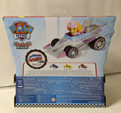 Paw Patrol Ready Race Rescue Skye Race /& Go Deluxe Vehicle with Sound New
