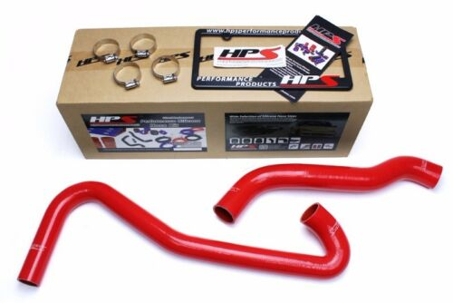 HPS Red Silicone Radiator Hose Kit For Jeep 09-10 Grand Cherokee WK1 5.7L//6.1L