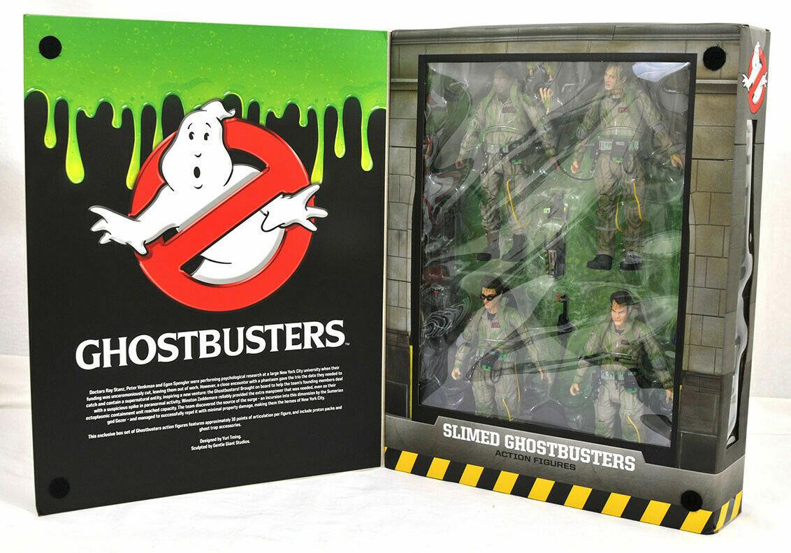 mejor marca Sdcc 2019 Comic Con Exclusive Slimed Ghostbusters acción figura Box Box Box set  orden ahora con gran descuento y entrega gratuita