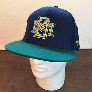115002455 Mens Rare Wool Cooperstown New Era MLB Milwaukee Brewers Baseball ...