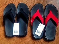 f0585c4180c30a Nike Ultra Celso Thong Flip Flops Mens Black white 002 8 for sale ...