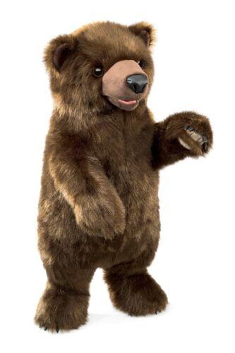 Hand Puppet - Folkmanis - Bear Standing New Toys Soft Doll Plush 3097