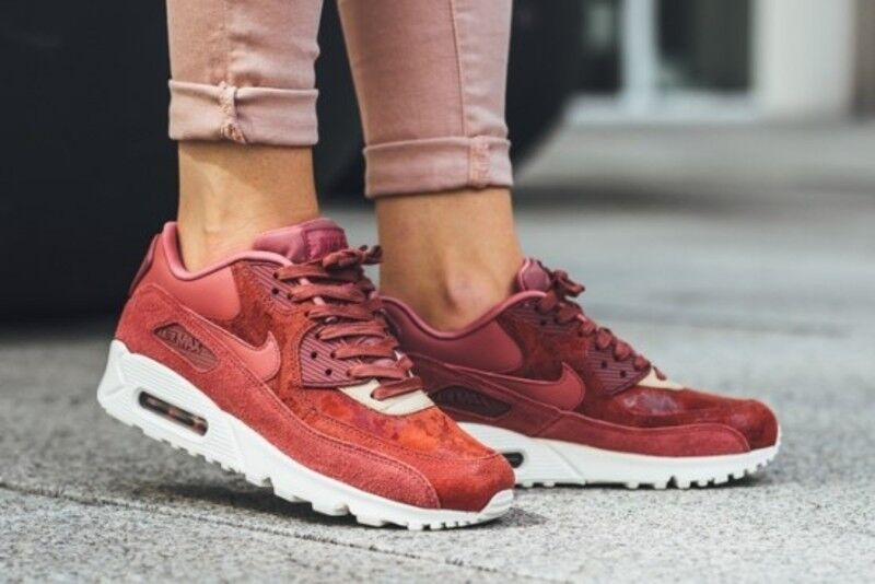 Damenschuhe NIKE AIR MAX 90 SD SIZE 5 5 SIZE EUR 38.5 (920959 800) LIGHT ROTWOOD 6d0610