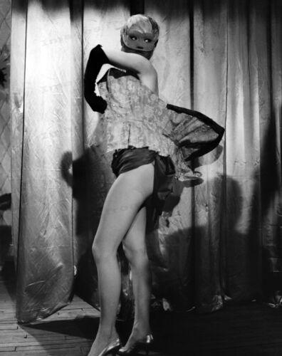8x10 Print Brigitte Bardot Costumed Masqueade Mask #1898
