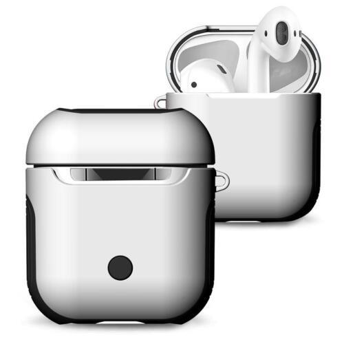 Para Apple airpods Funda Cubierta De Silicona Protectora Carcasa Cargador Auricular vainas de aire