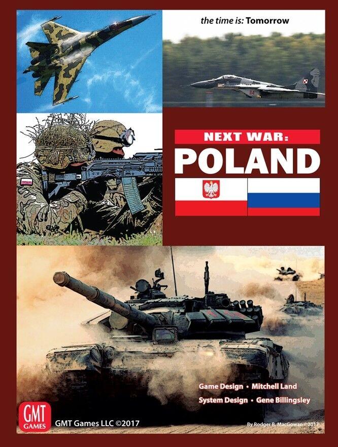 Next Guerra  Poland, Poland, Poland, Wargame, New by GMT, English Edition 20246e