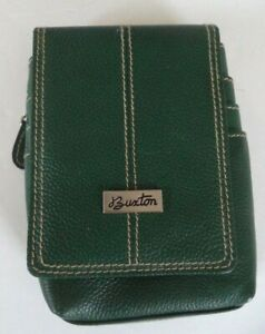 Buxton-Genuine-Leather-Mini-Bag-Forest-Green