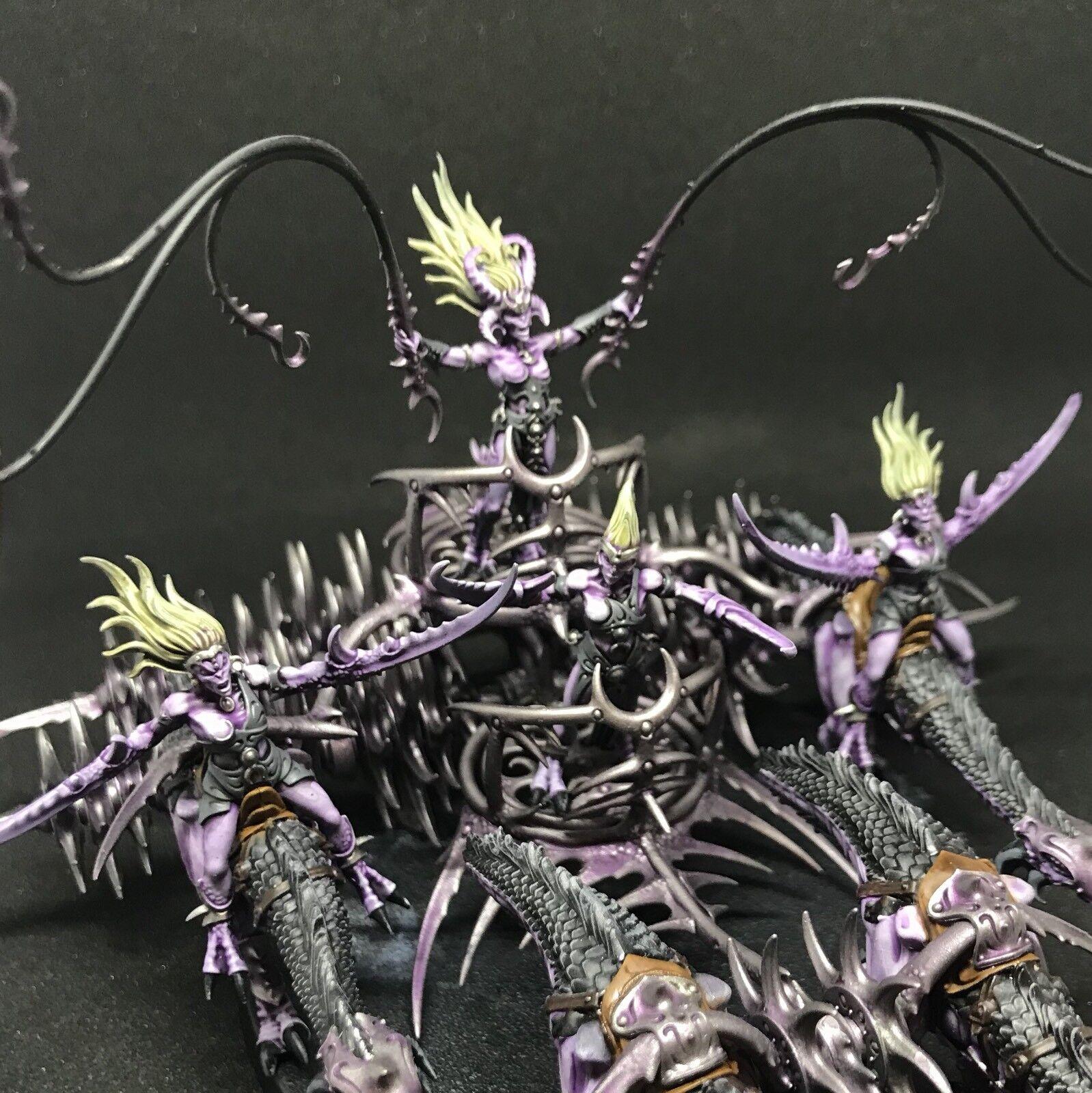 Exhalted Seeker carroza de Slaanesh-Warhammer-Pintado A Pedido