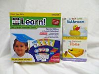 Your My Baby Can Learn / Read Vol 1-4 Dvd, & Mini-sliding Board Books