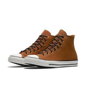 800231e82ae8 Image is loading Converse-Chuck-Taylor-All-Star-Plimsolls-Brown-Crafted-