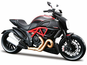 MAISTO-1-12-Ducati-Diavel-CARBON-MOTORCYCLE-BIKE-DIECAST-MODEL-TOY-NEW-IN-BOX