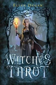 Witches Tarot Kit, Complete Kit Including Deck & Book, by Ellen Dugan!