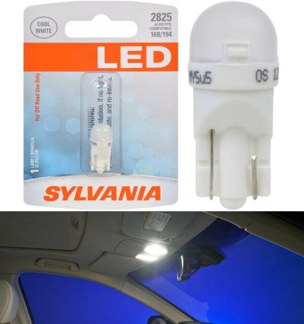Sylvania Premium LED light 2825 White One Bulb Interior Map Replacement Lamp EO