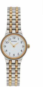 Sekonda Ladies Two Tone Watch 2171-snp SchöNer Auftritt Armband- & Taschenuhren