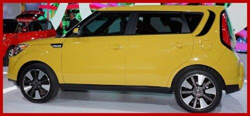 FIT OR FOR KIA SOUL UPPER REAR QUARTER DECAL GRAPHICS 2008 2013 STRIPE FACTORY