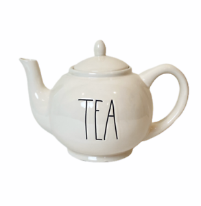 RAE-DUNN-TEA-TEAPOT-Ceramic-With-Lid-Artisan-Collection-by-Magenta-Brand-New