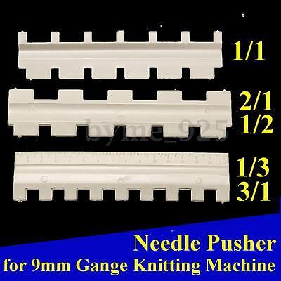 Set of Needle Pusher for Brother 9mm Gange Knitting Machine 1/1,2/1 1/2,1/3 3/1