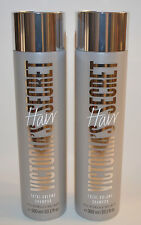 LOT OF 2 VICTORIA'S SECRET HAIR TOTAL VOLUME SHAMPOO WASH 300 ML 10.1 OZ EACH