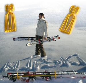 KlipSki-Systeme-simple-de-porte-skis-alpin-et-fond-avec-batons-7-couleurs