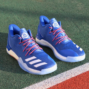 adidas D Rose 7 Low BY4499 Blue Orange Bulls Knicks Timberwolves ... 140823121