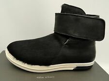 RICK OWENS Black Fur Boots Sneakers UK10 EU44 US11 Trainers