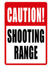 Shooting Range Sign Durable Aluminum Hi Quality Weather Proofsign Nw 562 Shoot