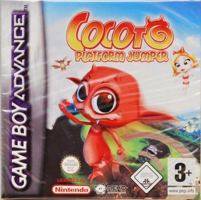 COCOTO PLATFORM JUMPER GAME BOY ADVANCE NEUF SOUS BLISTER D'ORIGINE MULTI LANGUE