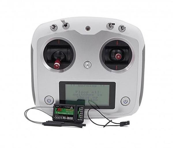 più ordine Radiocouomodo Flycielo FS-i6S 2.4G 2.4G 2.4G 10CH OSD Transmitter FS-iA6B Receiver Per Droni  prezzi eccellenti