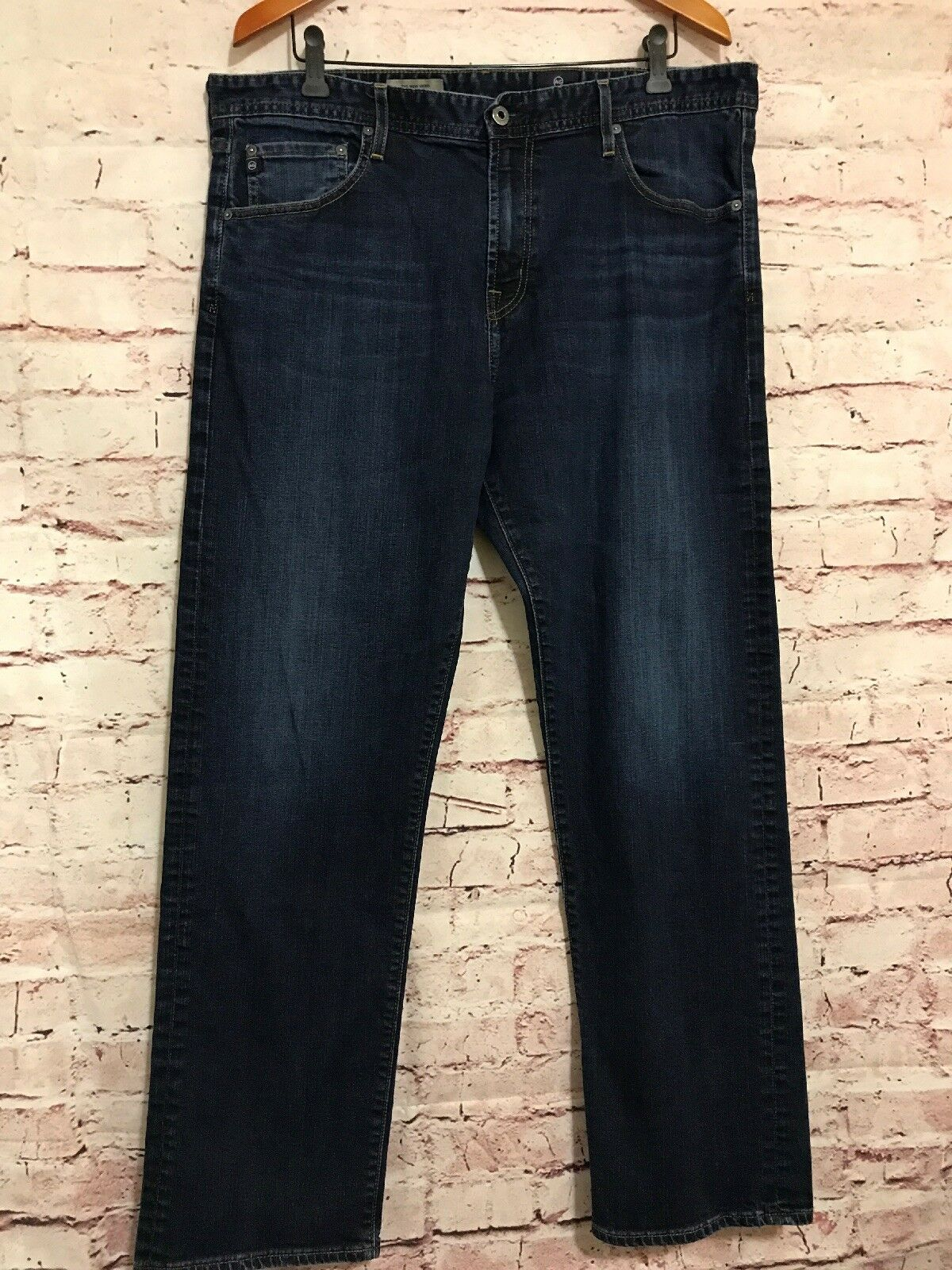 Ag Mens Jeans Dark Wash bluee The New Hero Relaxed Fit 38x31 C54