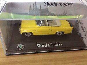 Skoda Felicia 1960 Abrex Abs703gb 1/43-afficher Le Titre D'origine