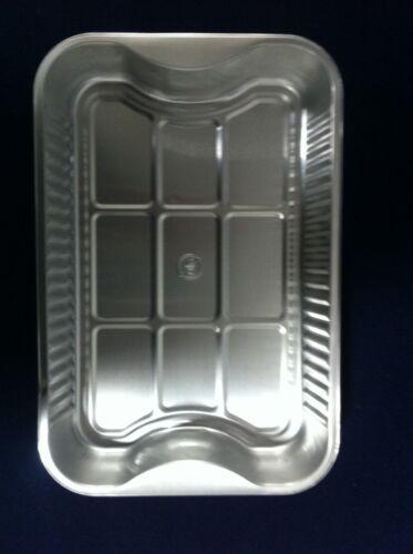 Aluminium Foil Roaster Tray Rectangle Oven Roasting Dish With Handles 29x19x5cm