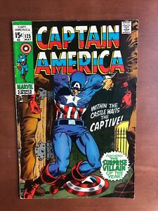 Captain-America-125-1970-7-5-VF-Marvel-Key-Issue-Comic-Bronze-Age-Mandarin-Ap