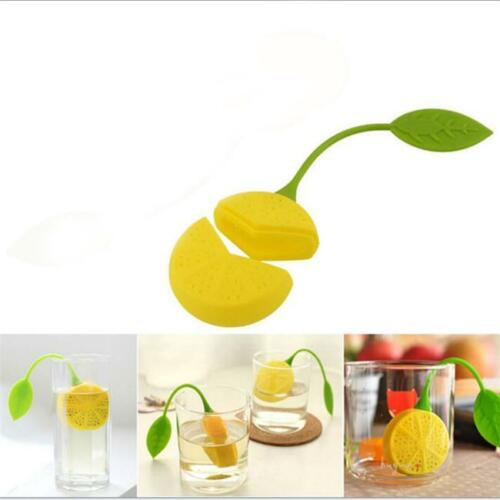 Tea Infuser Silicone Loose Leaf Strainer Herbal Spice Filter Diffuser LC