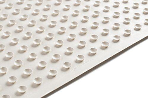 Anti Slip Bacterial Bath Rubber Mat Bathtub Shower Bathroom Floor Gym Heavy Duty
