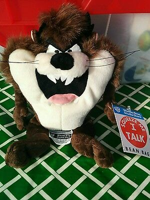 New Rare Tazmanian Devil Taz by Warner Studio store Squeeze Me and I talk