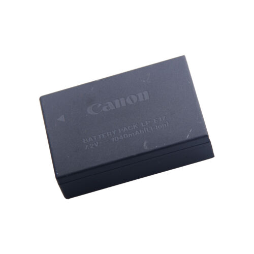 Original Canon LP-E17 LPE17 LPE 17 Battery for EOS T6s//760D//T6i//750D Camera