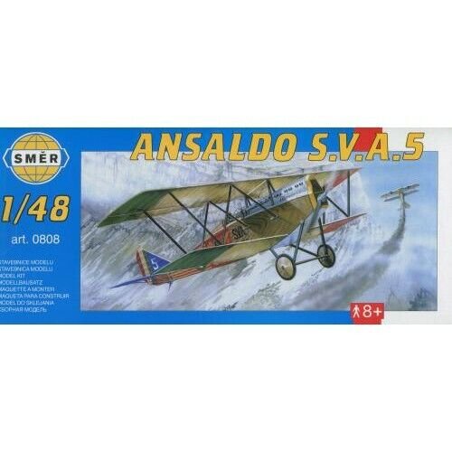 1//48 model kit, Smer 0808 Ansaldo S.V.A Italian and US WW1 recon 5