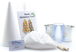 Peak-dale-Sweet-CHRISTMAS-TREE-kit-makes-two-cone-shaped