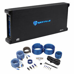 Rockville-dB45-3200-Watt-1600w-RMS-4-Channel-Car-Stereo-Amplifier-Amp-Kit-Loud
