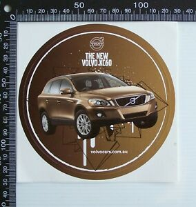 OLD-2000s-NEW-VOLVO-XC60-COMPACT-SUV-CAR-DEALERSHIP-ADVERTISING-PROMO-STICKERS