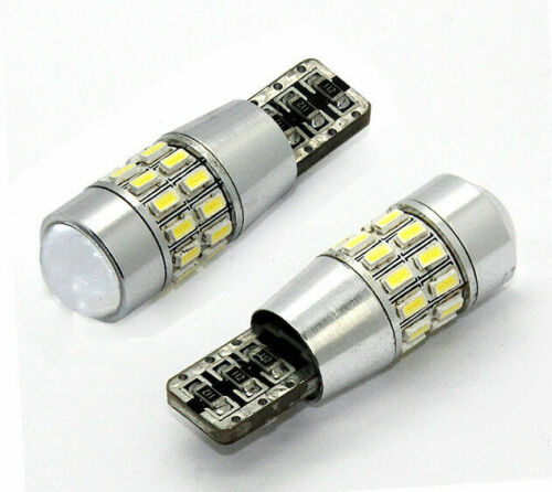 2018 DEL Upgrade 30SMD 501 T10 W5W Amber Indicateur Ampoules Canbus avec lentille