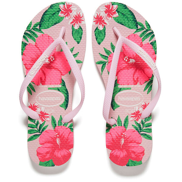 2e6f2de7f Havaianas Slim Floral Women s Flip Flops. Uk5 Crystal Rose for sale online