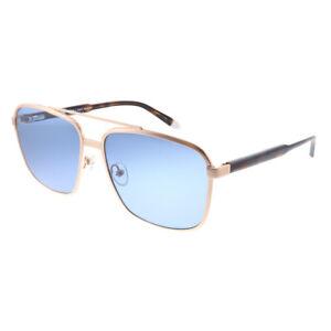 New-Original-Penguin-The-Earl-2-0-Sun-Rose-Gold-Sunglasses-Blue-Polarized-Lens