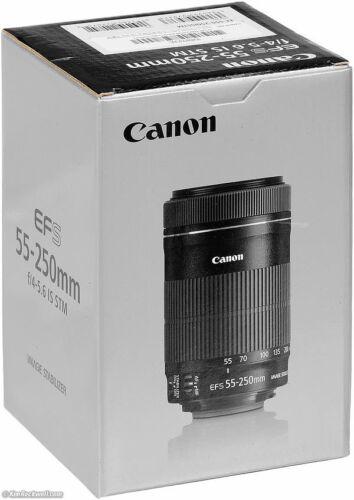 Canon EF - 55-250 mm f/4-5.6 Lente IS STM S Totalmente Nuevo