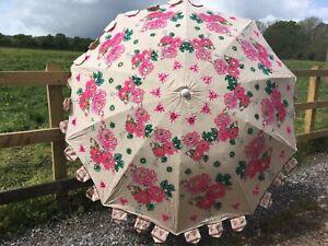 Parasol Garden Patio English Country  Garden