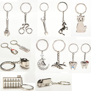 Creative-Metal-Keychain-Key-Ring-Key-Chain-Key-12-Pattern-Choose-Deco-XjH-ti