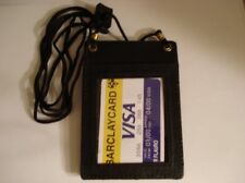 Leather ID & Credit Card Holder